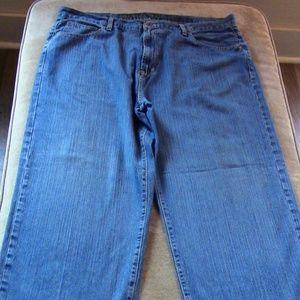 Nautica Mens Denim Jeans Sz 40W 30L